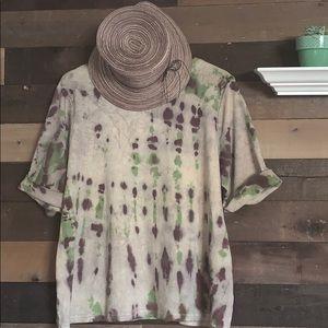 soft cotton Tie dye shirt
